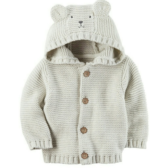 Carter's Other - Carter's Hooded Bear Cardigan